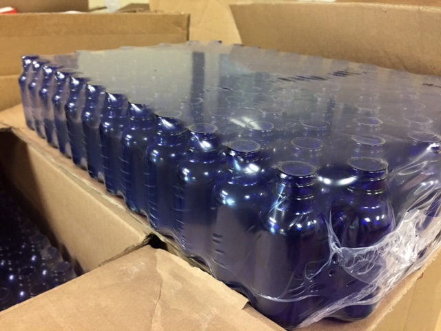Glass Bottles Wrapped Bad