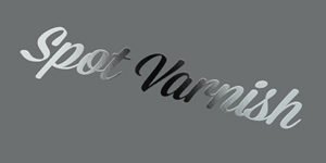 Spot-Varnish-Label
