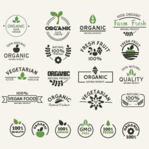 Organic and Natural Food Label Collection
