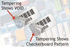 Tamper Evident Void Labels
