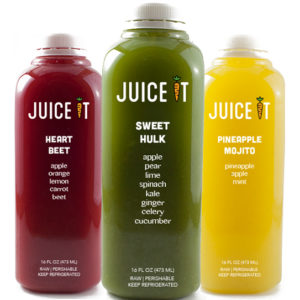 three-juice-bottles