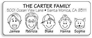 caricature-address-labels