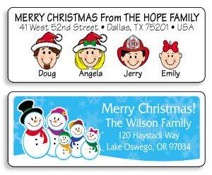 christmas-address-labels