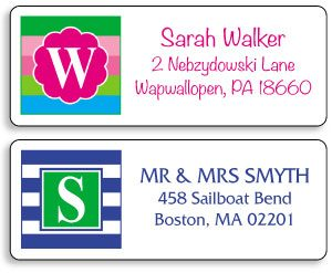 initial-monogram-address-labels
