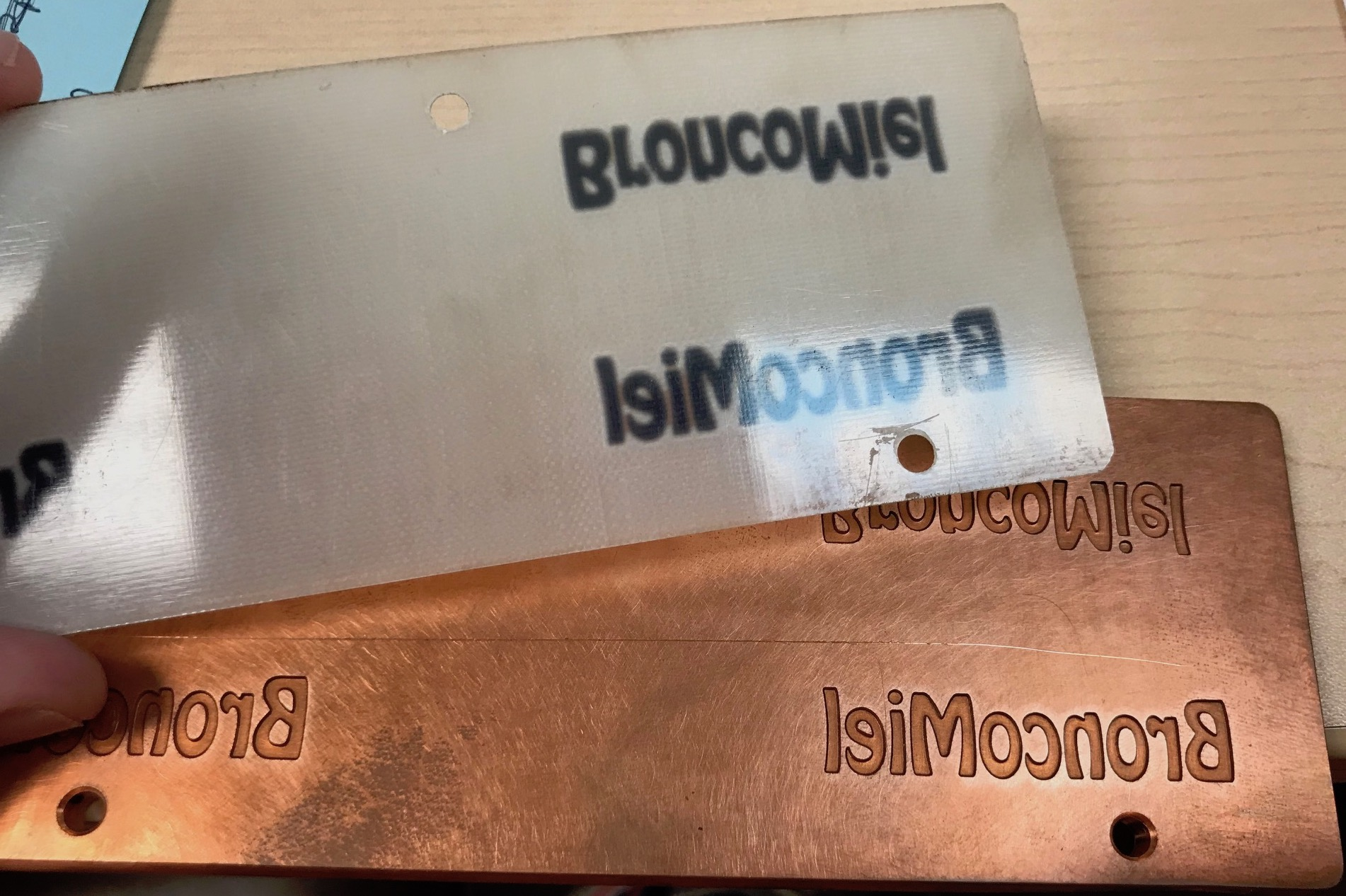 Embossing Die and Counter