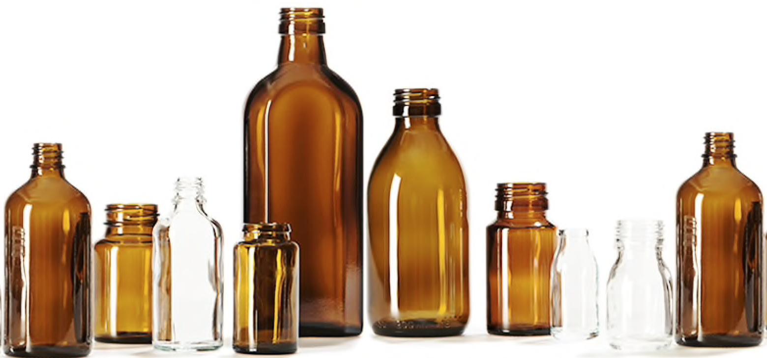 Boston Round Glass Bottles