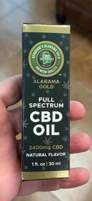 CBD Oil Tincture Box