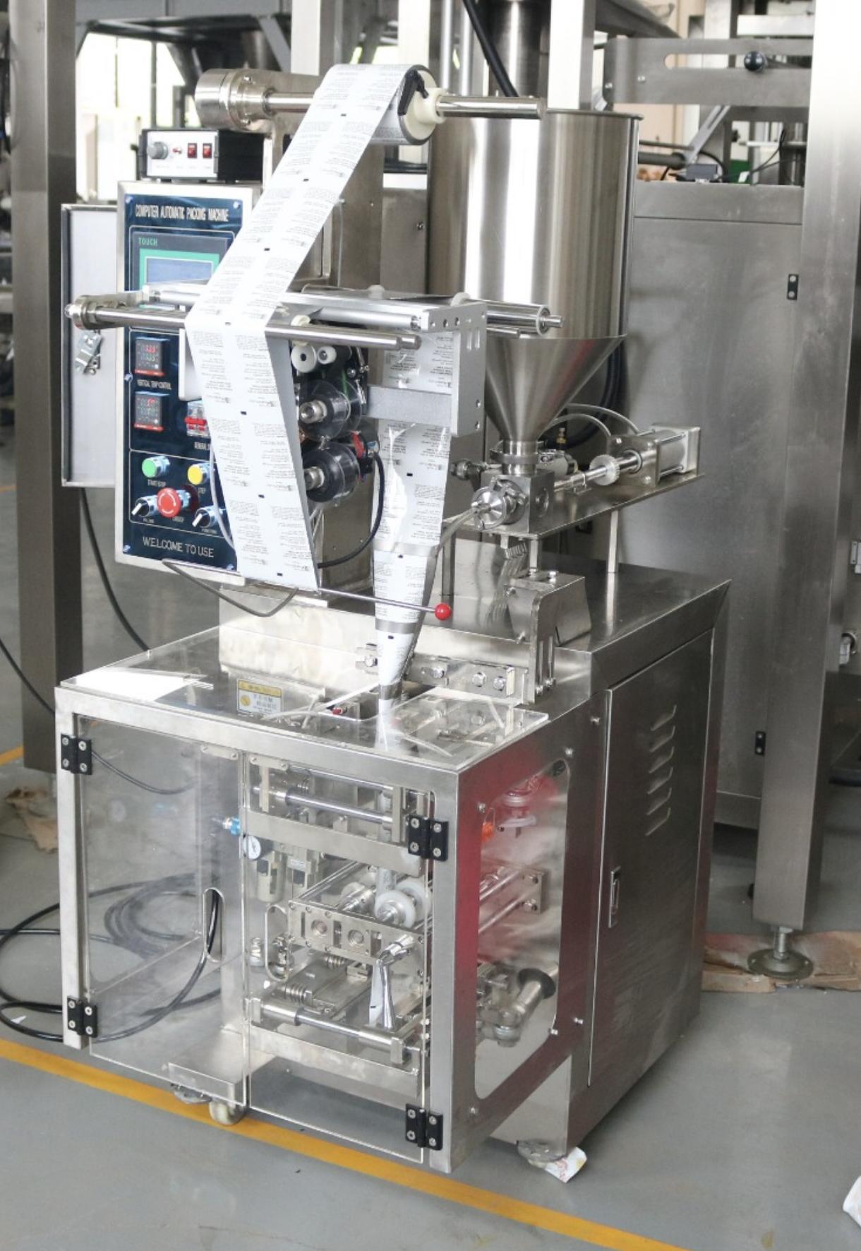 Sachet Pouch Filling Machine